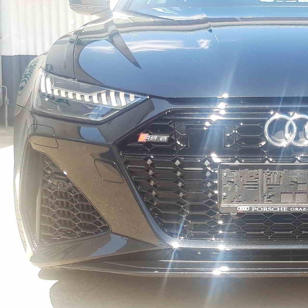 BRILA Graz Premium Body Coating Audi RS6 Front