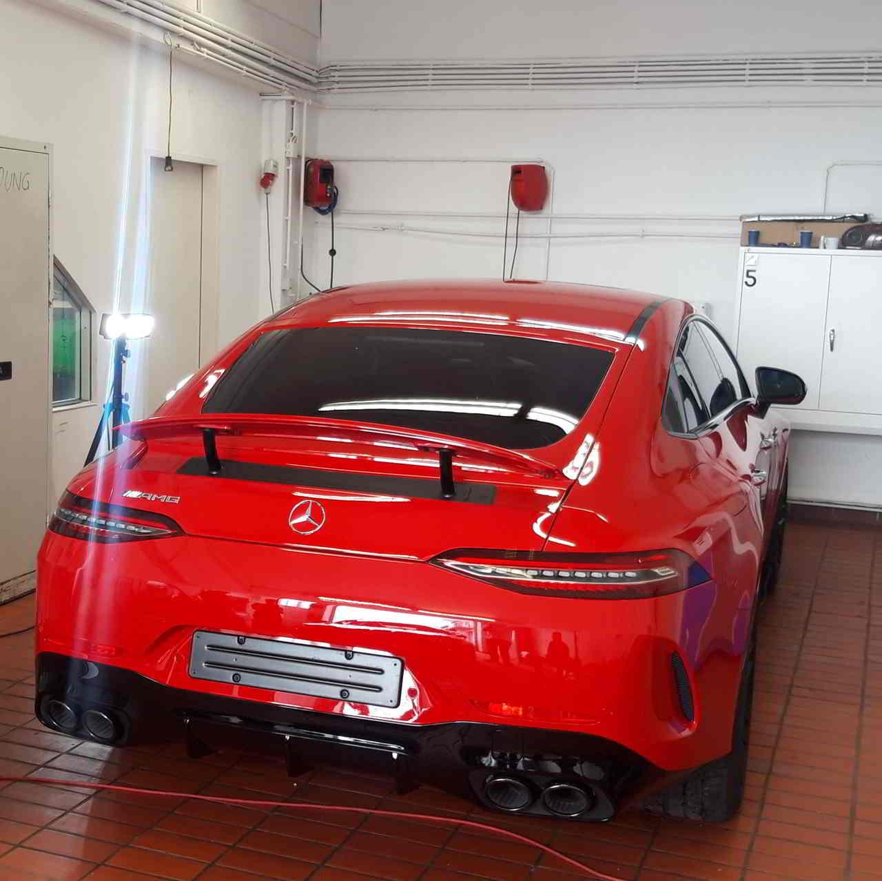 BRILA Graz Premium Body Coating Mercedes AMG Heck