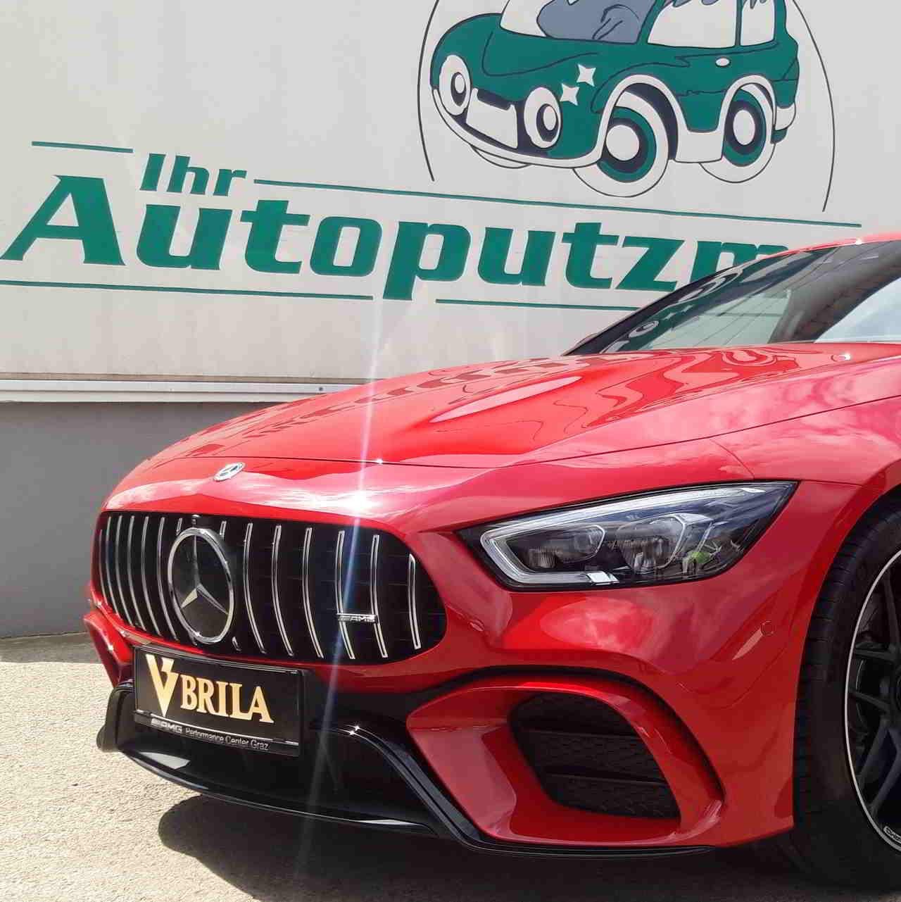 BRILA Graz Premium Body Coating Mercedes AMG