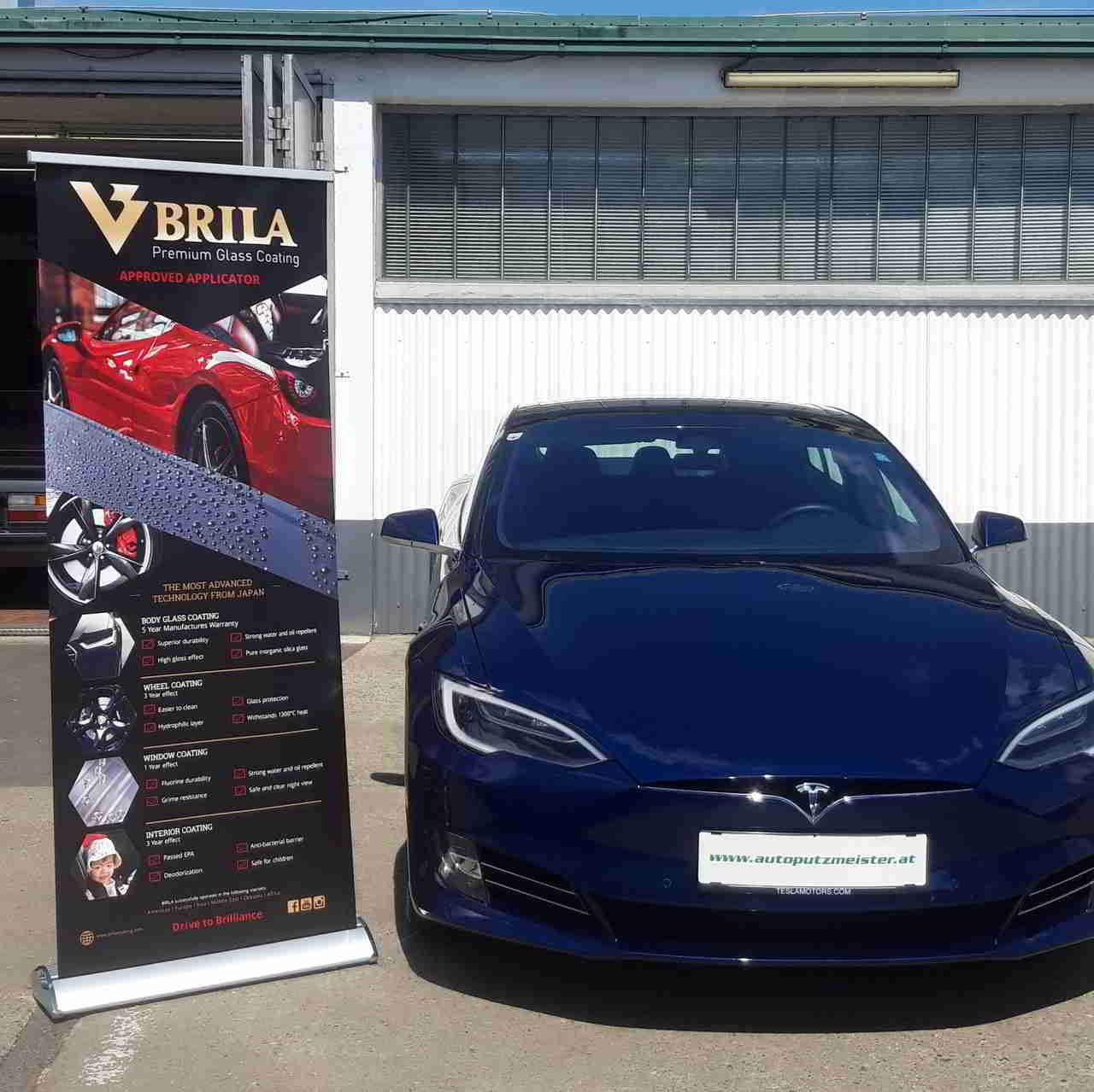 BRILA Graz Redline Body Coating Tesla 3