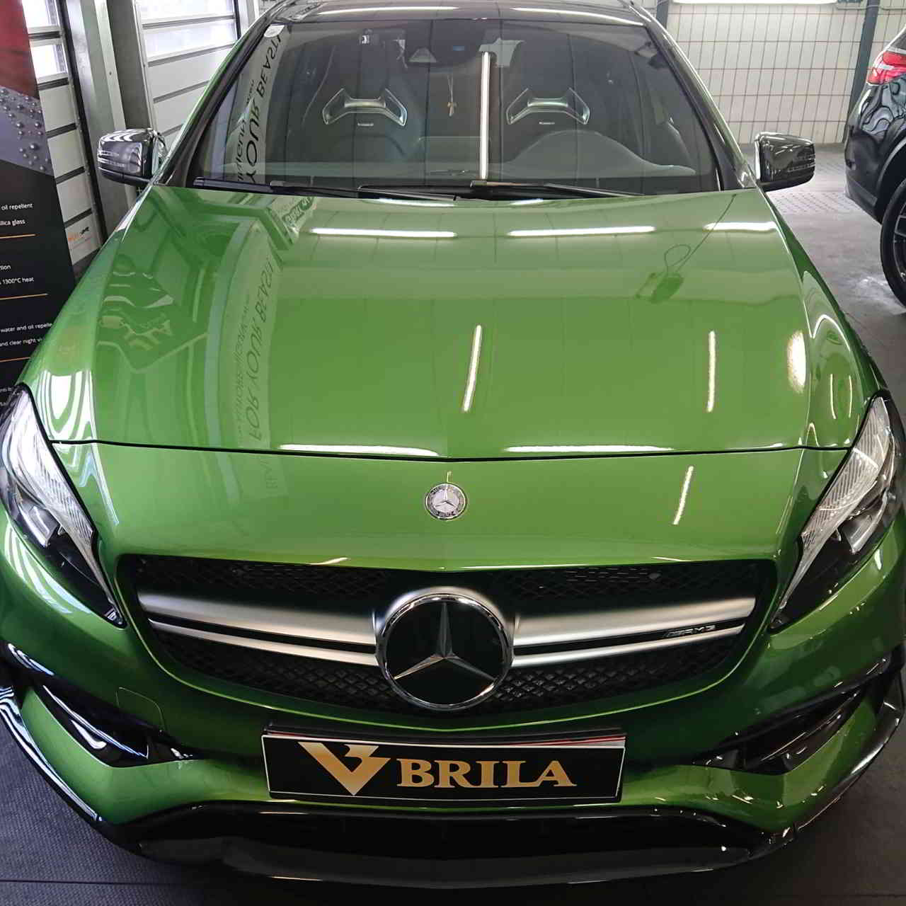 BRILA Wien Premium Body Coating AMG A45 Front