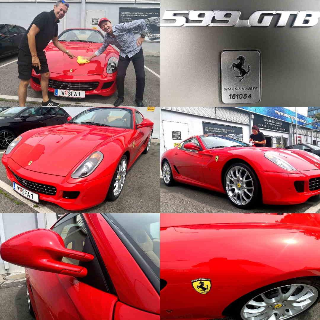 BRILA Wien Redline Coating Ferrari 599GTB
