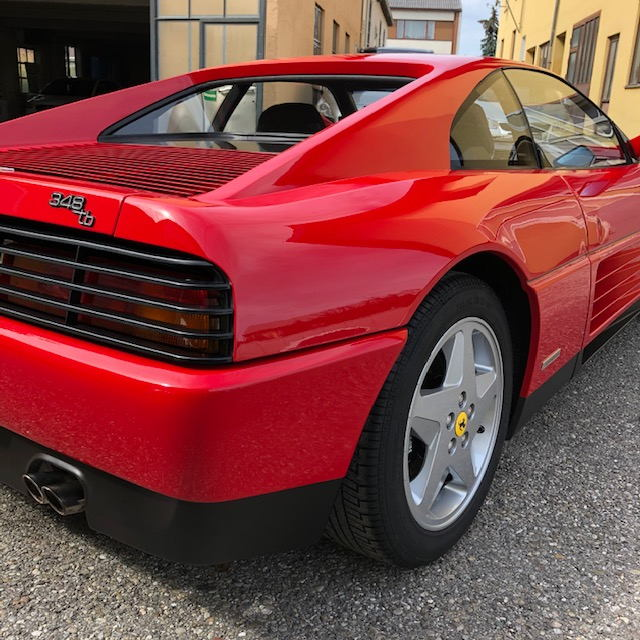 BRILA Braunau Premium Body Coating Ferrari 348tb Heck