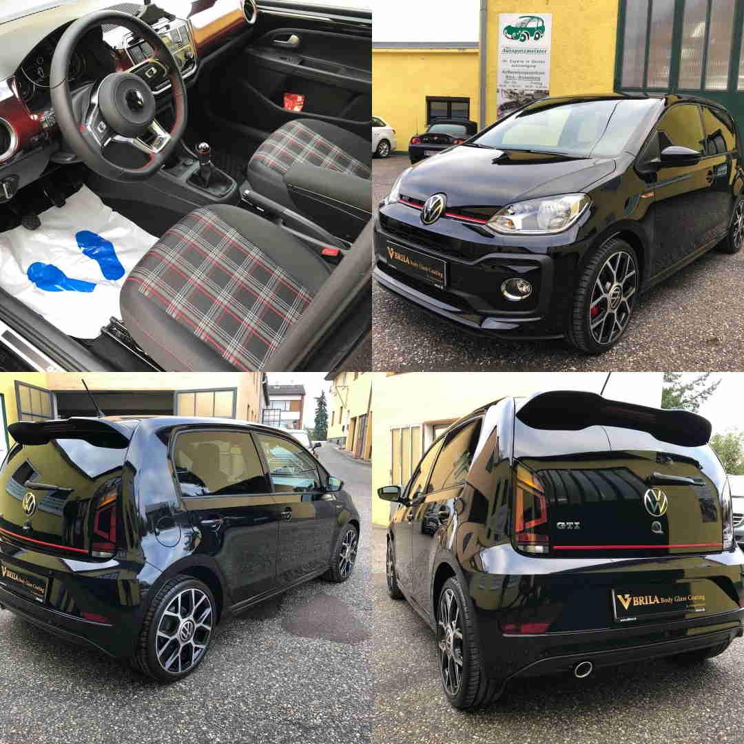BRILA Braunau Redline body coating VW up GTI