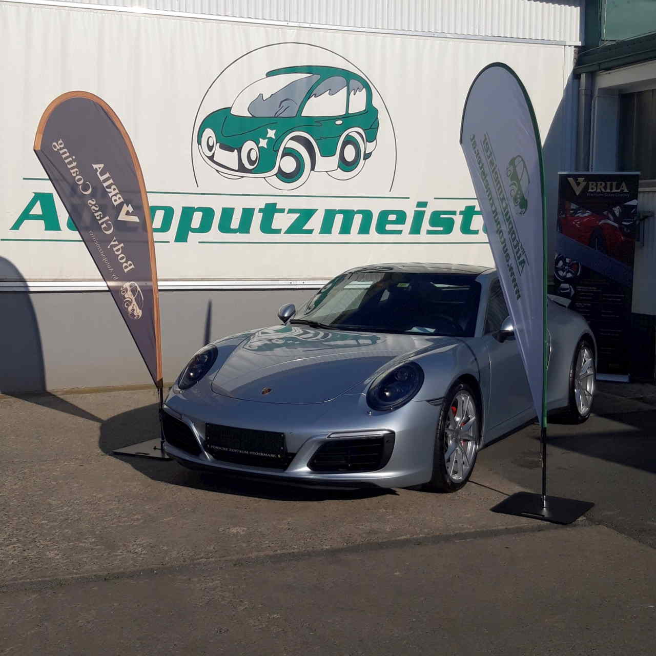 BRILA Graz Redline Body Coating Porsche 911 seitlich