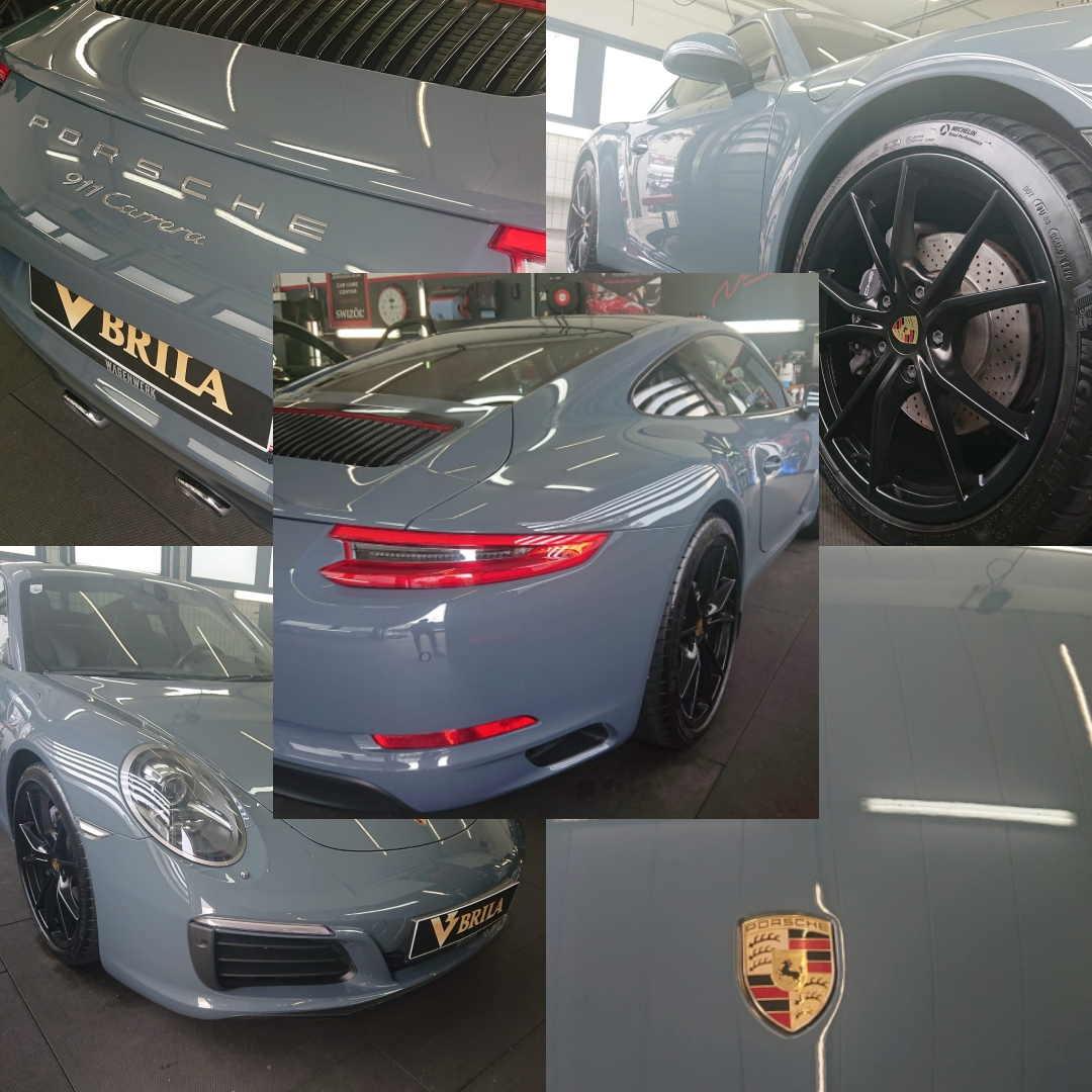 BRILA Wien Premium Coating Porsche 911