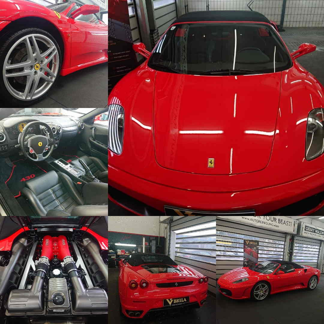 BRILA Redline Coating Ferrari 430