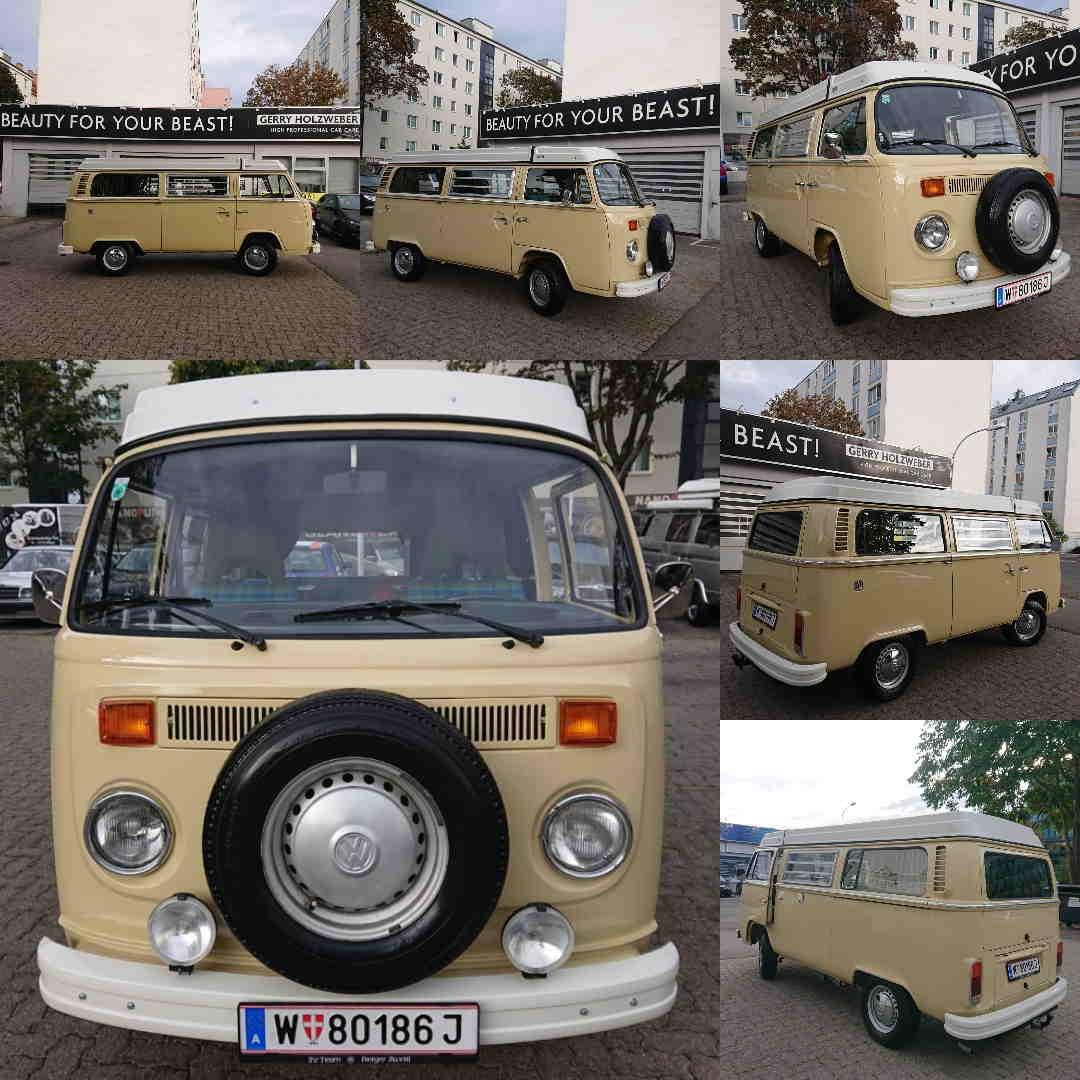 BRILA Wien Redline Coating Oldtimer VW Bulli T2 Westfalia
