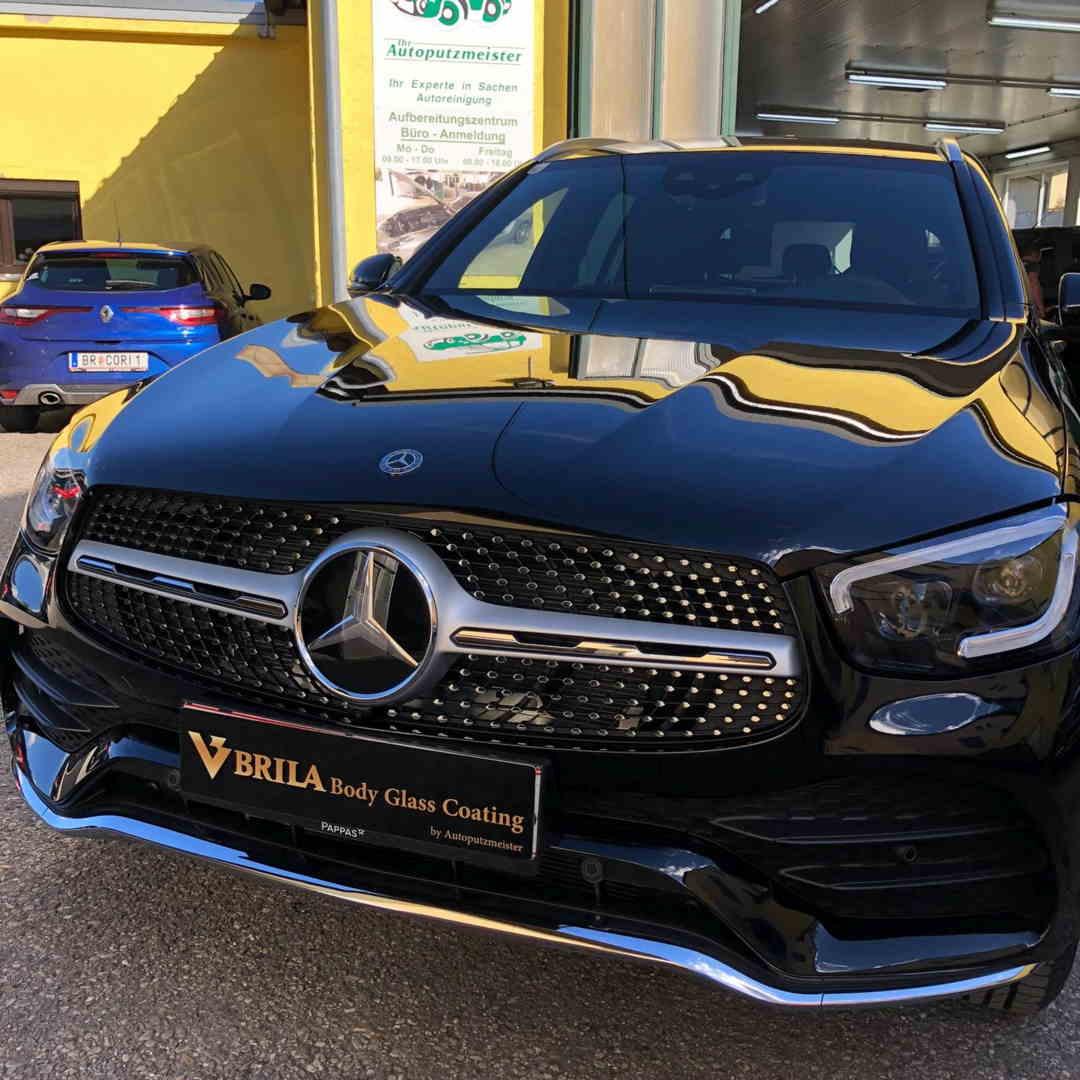 BRILA Braunau Redline body coating Mercedes Benz GLC Front