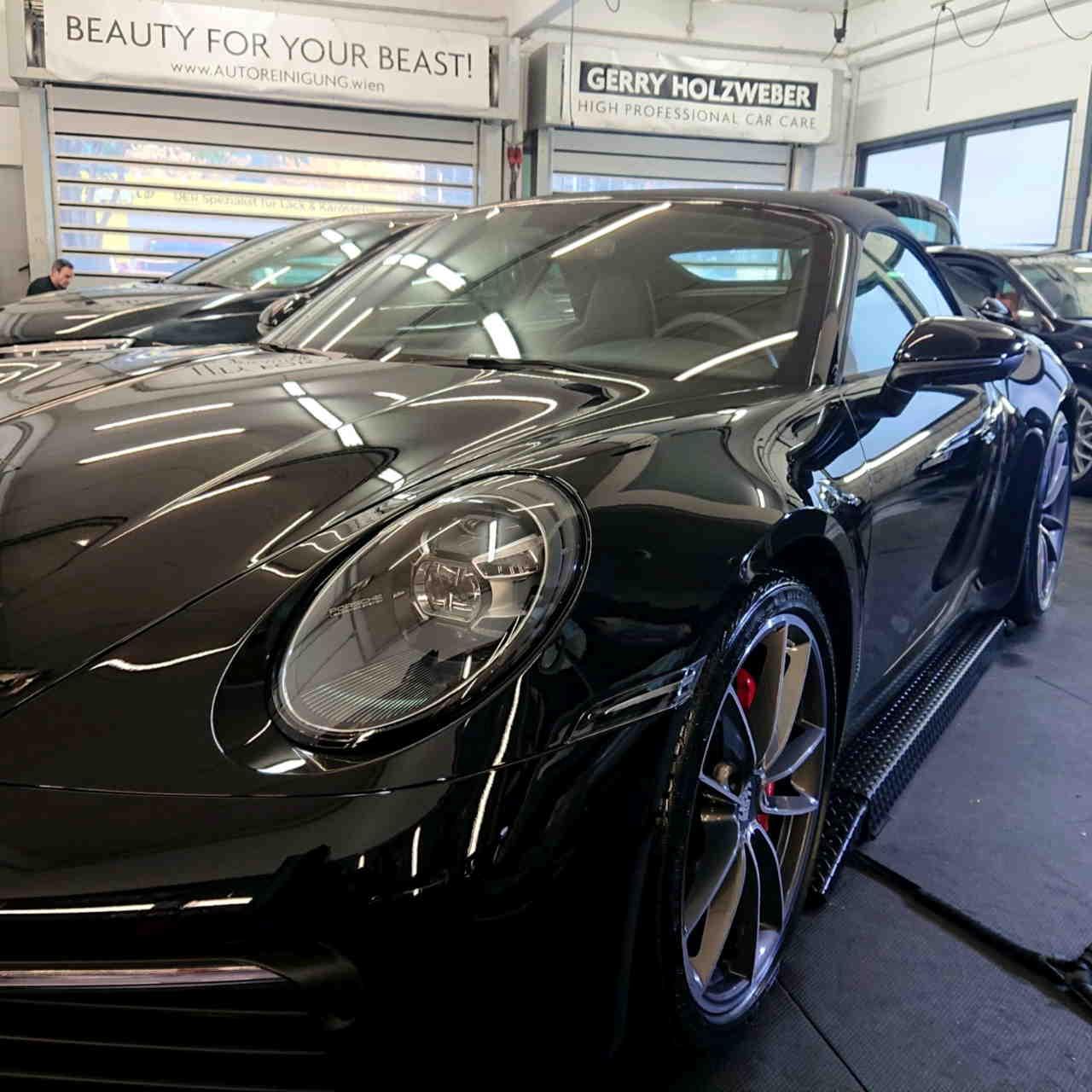 BRILA Wien Redline Coating Porsche 911 Front