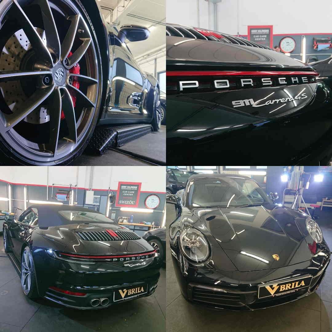 BRILA Wien Redline Coating Porsche 911