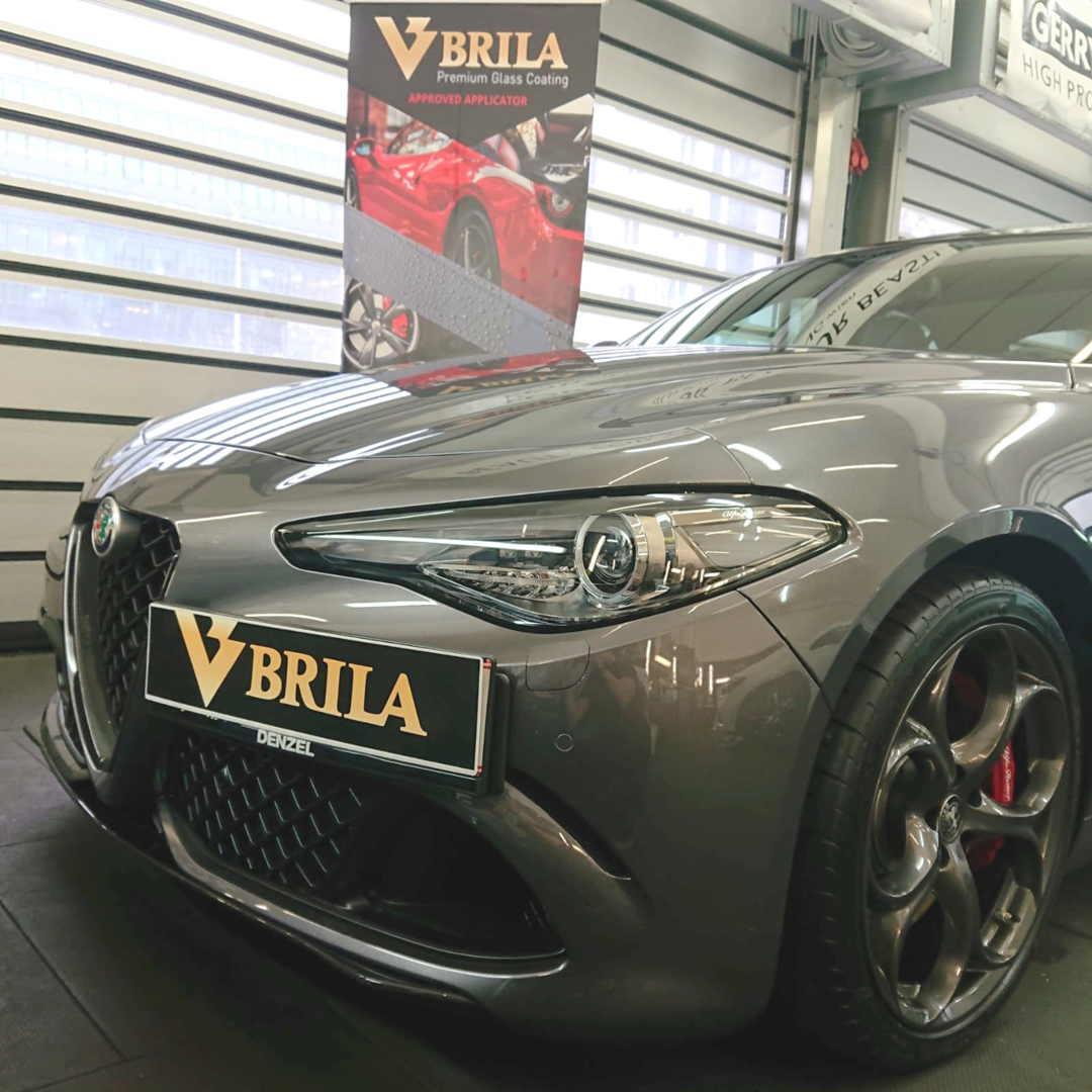 BRILA Wien Premium Coating Alfa Romeo Giulia Front