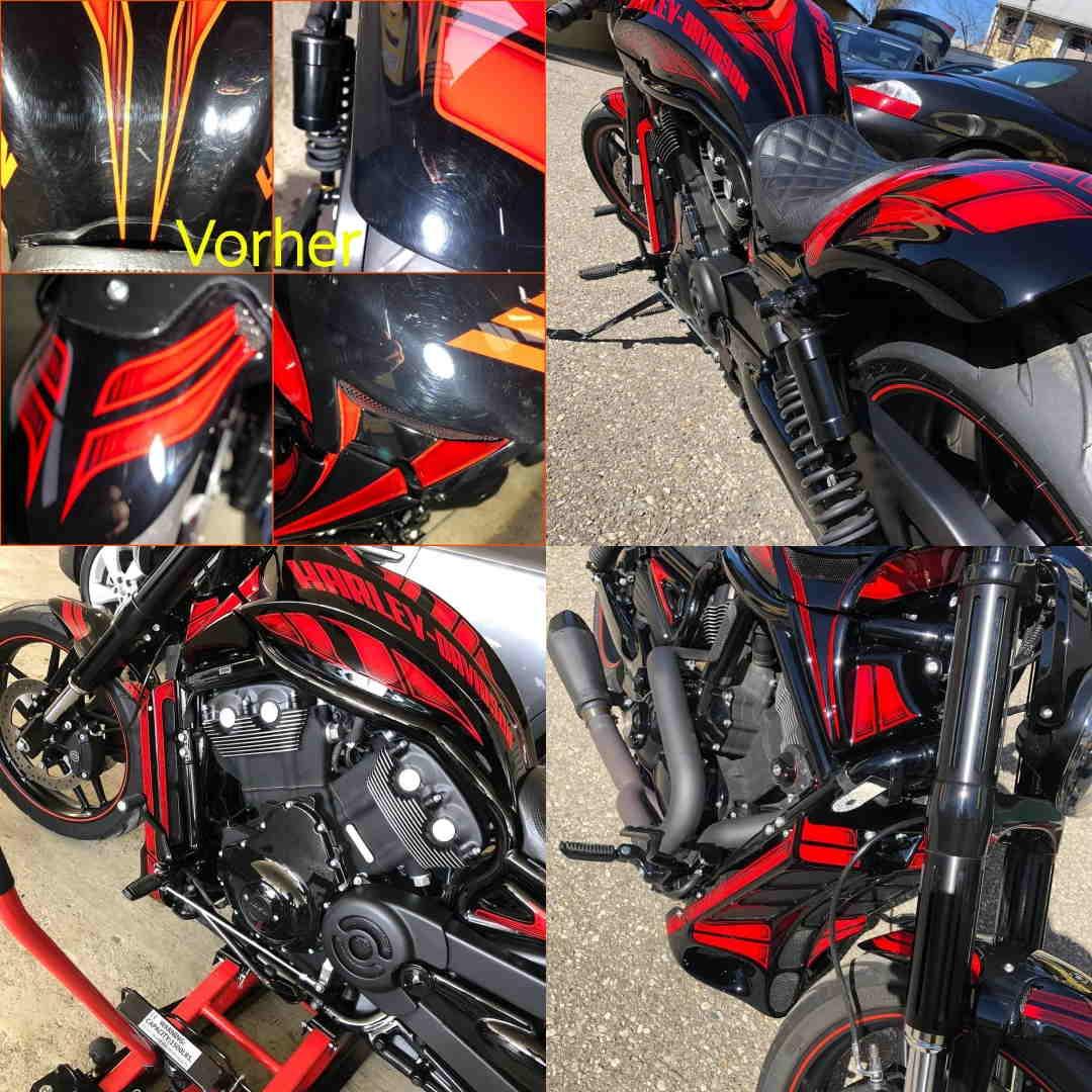 BRILA Braunau Redline body coating HD Custom Details